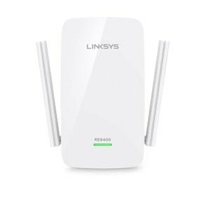 Linksys RE6400, WiFi Range Extender DB AC1200