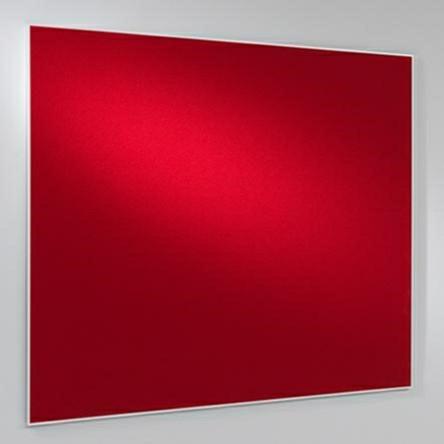 Lintex Boarder stof opslagstavle 300 x 120 cm med aluramme - FLERE FARVER