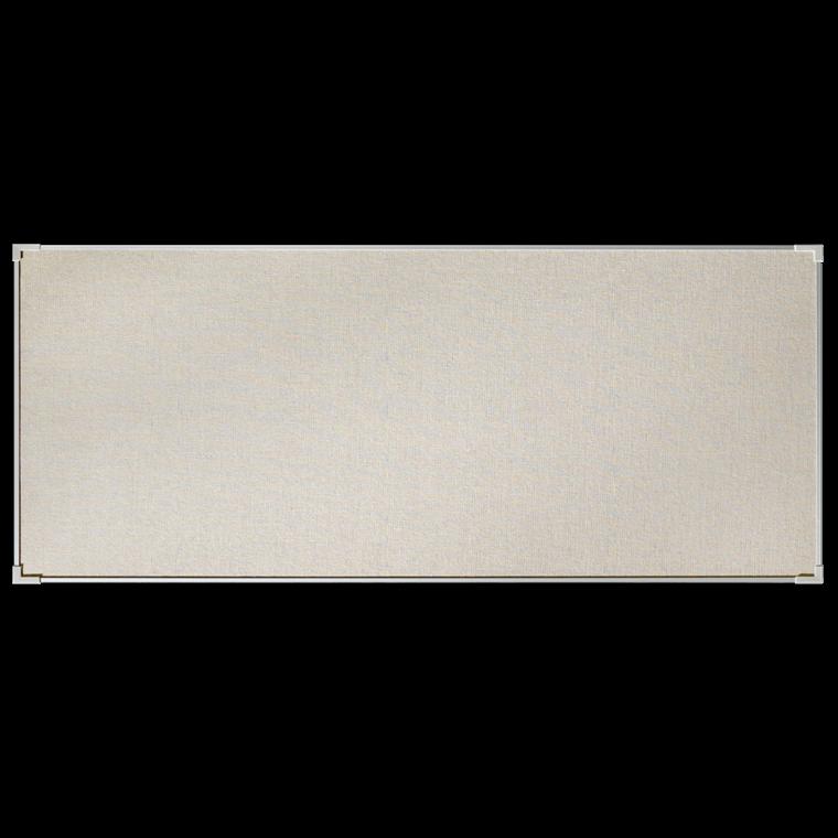 Lintex Boarder opslagstavle i naturstof med aluramme - 300 x 120 cm