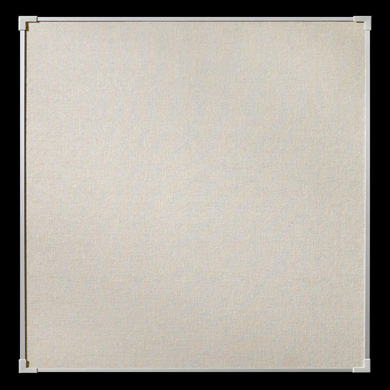 Lintex Boarder opslagstavle 120 x 120 cm - Naturstof med aluramme