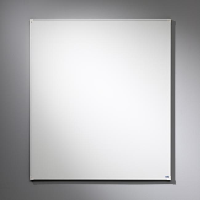 Lintex Boarder - whiteboardtavle med hvid ramme 100 x 120 cm