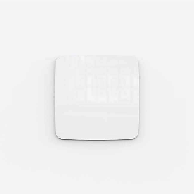 Glastavle - Lintex Mood Flow 30 x 30 cm - Pure