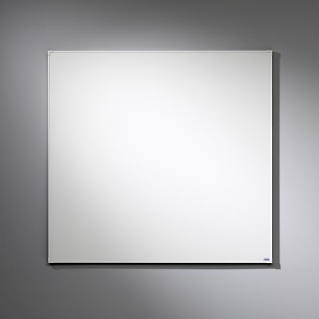 Lintex Whiteboard Boarder - med hvid ramme 120 x 120 cm
