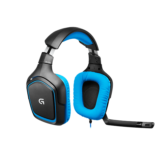 Logitech G430 Gaming Headset Blue
