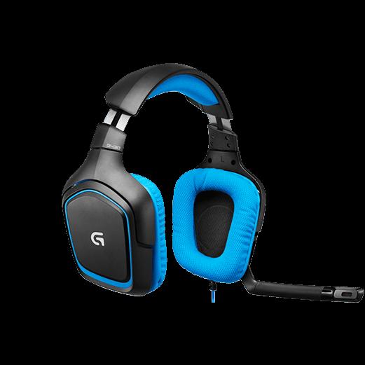 Gaming Headset m. Ledning Køb billigt online 4bee634bca807