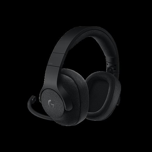 Logitech G433 7.1 Surround Gaming Headset, Black