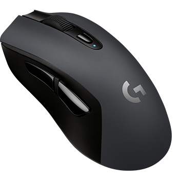 Logitech G603 LIGHTSPEED Wireless Gaming Mouse, Black