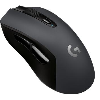 Logitech G603 LIGHTSPEED Wireless Gaming Mouse, Black