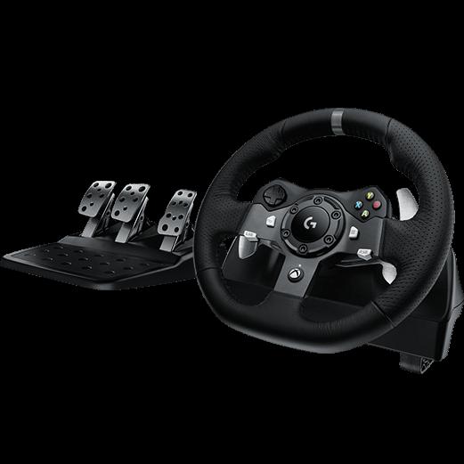 Logitech G920 Driving Force Racing Wheel (X-Box One + PC)