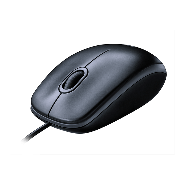 Logitech M100 - Sort optisk mus