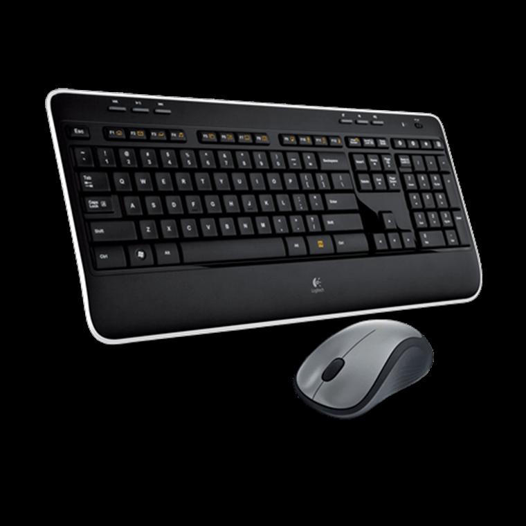 Logitech MK520 Wireless Desktop, black  (UK)