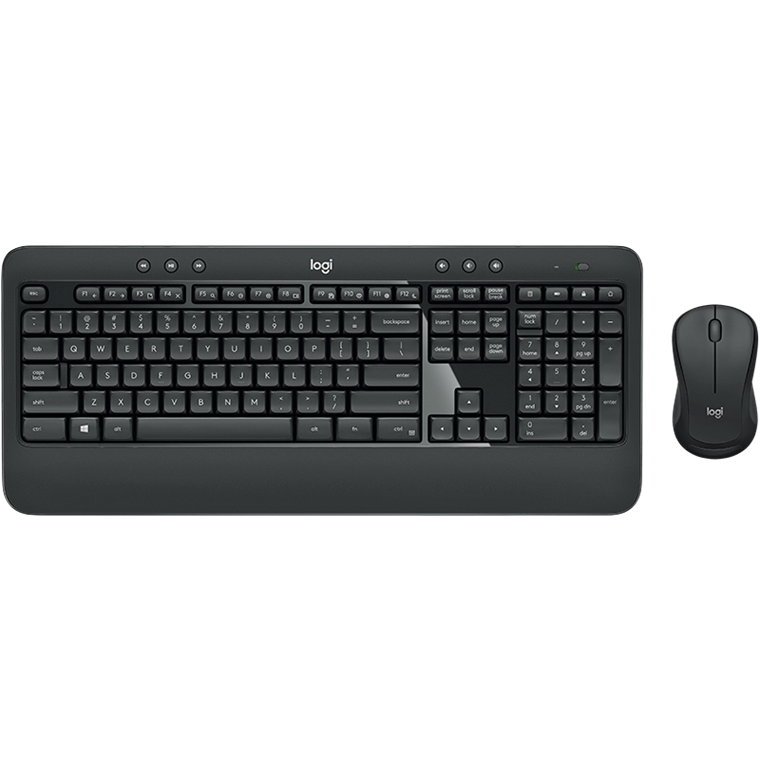 Logitech MK540 Wireless Desktop Set, Black (Nordic)