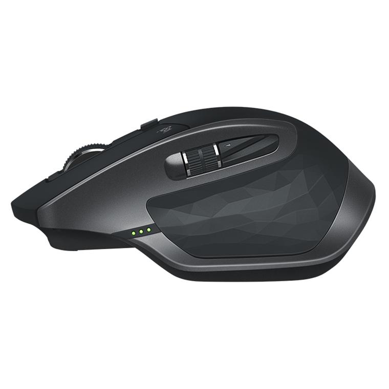 Logitech MX Master 2S Wireless Mouse, Graphite