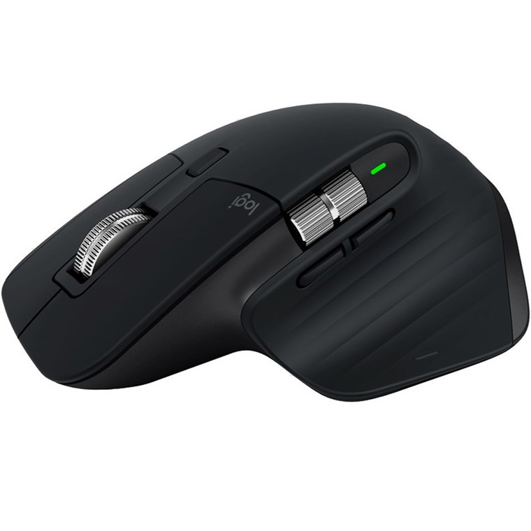 Logitech MX Master 3 Advanced Wireless Mouse, Black