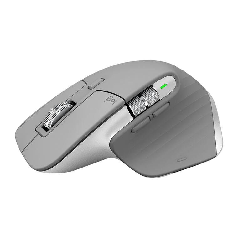 Logitech MX Master 3 Advanced Wireless Mouse, Mid grey