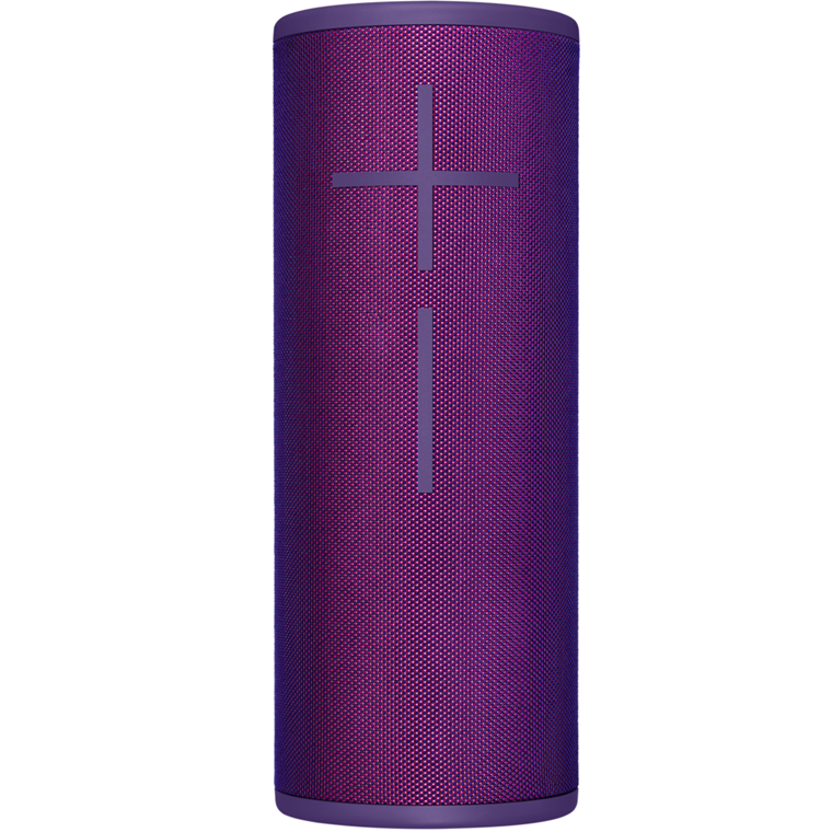 Logitech UE MEGABOOM 3 Wireless Bluetooth Speaker, Ultraviolet Purple