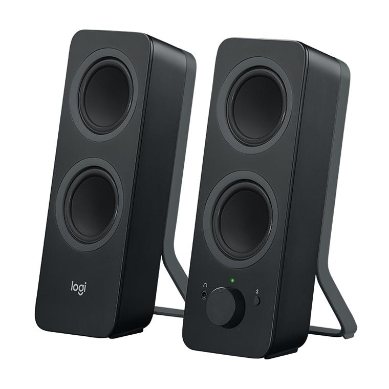 Logitech Z207 Bluetooth Computer Speakers, Black (EU)