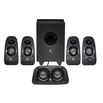 Logitech Z506 5.1 Speaker System, Black