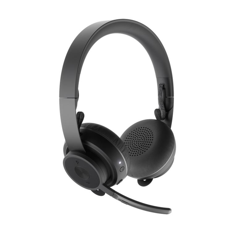 Logitech Zone Wireless Bluetooth headset, Graphite