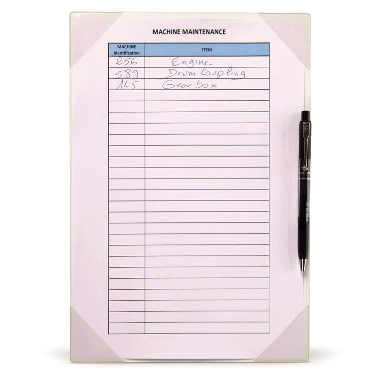 Lomme Kang Easy Write A4 flytbar selvklæbende 2stk
