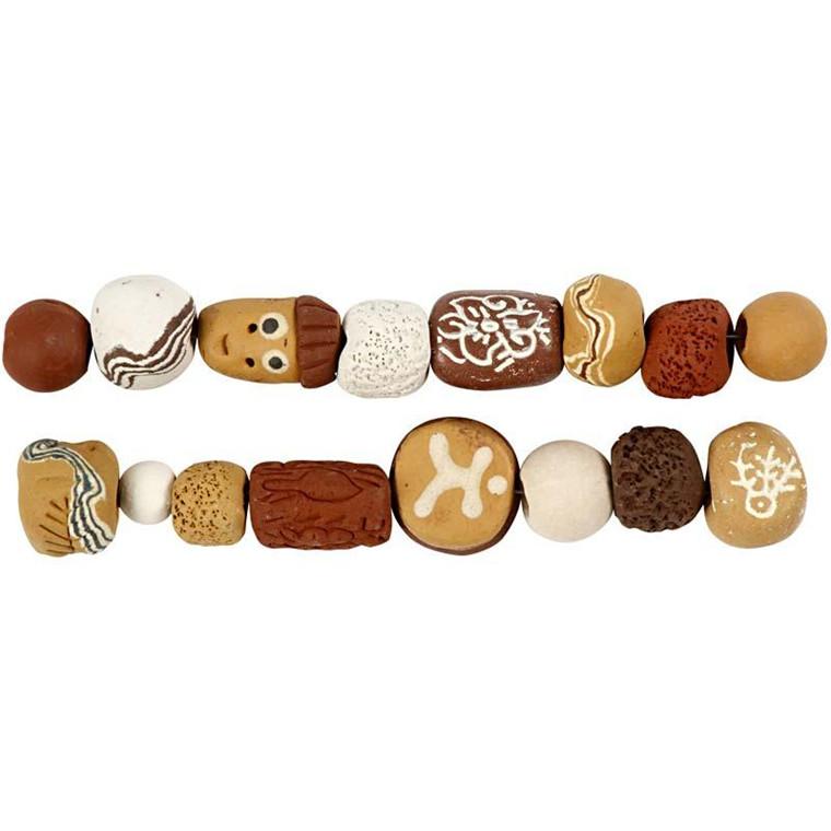 Luksus Perleharmoni, dia. 9-19 mm, hulstr. 3-4 mm, gul harmoni, 1sæt