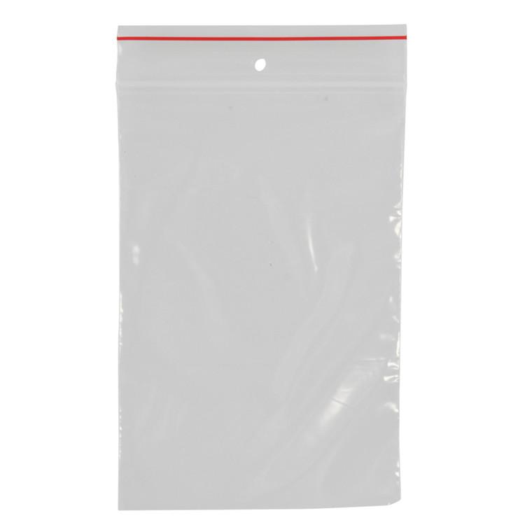 Lynlåspose, Easy-Grip, uden skrivefelt, i displayboks, LDPE, transparent, 50 my, 8x12 cm,