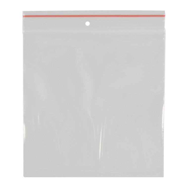 Lynlåspose, Easy-Grip, uden skrivefelt, i displayboks, LDPE, transparent, 50 my, 10x10 cm,