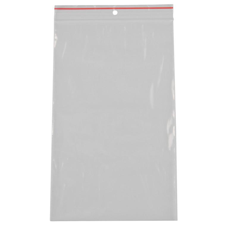 Lynlåspose, Easy-Grip, uden skrivefelt, i displayboks, LDPE, transparent, 50 my, 15x25 cm,