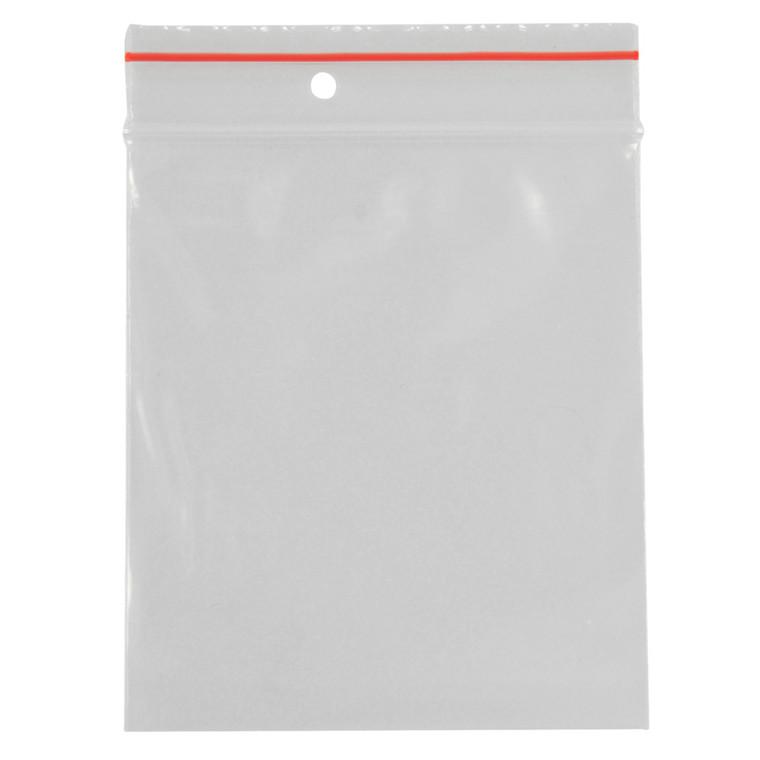 Lynlåspose, Easy-Grip, uden skrivefelt, i displayboks, LDPE, transparent, 50 my, 17x23 cm,