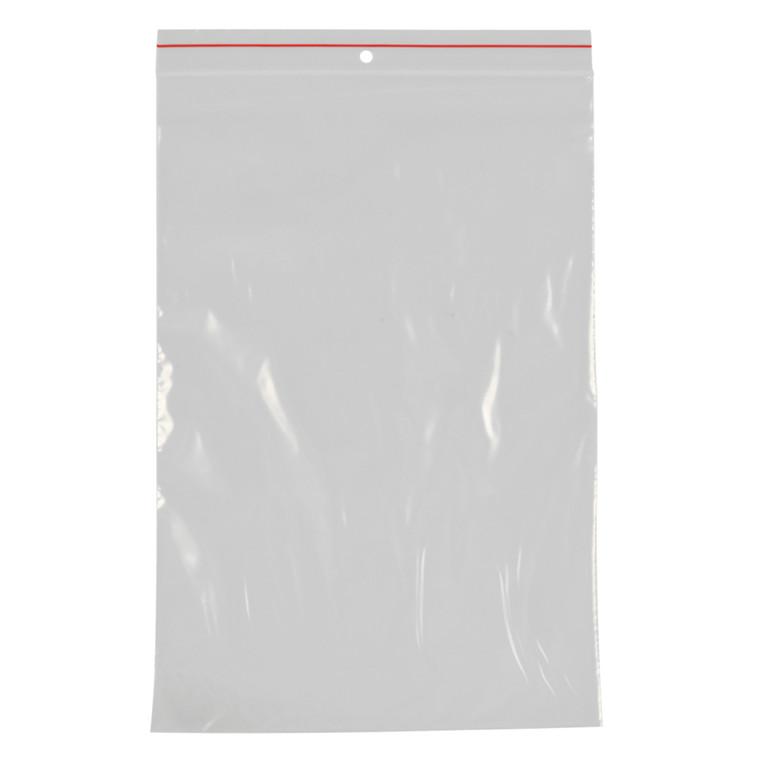 Lynlåspose, Easy-Grip, uden skrivefelt, i displayboks, LDPE, transparent, 50 my, 17,50x25 cm,
