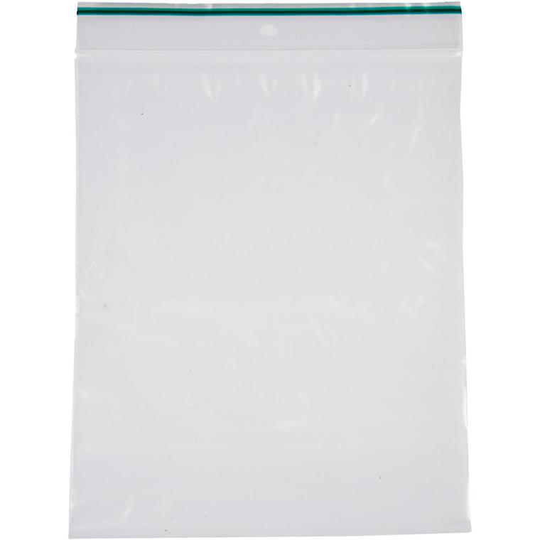 Lynlåspose, str. 6x8 cm, tykkelse: 0,05 mm, 100stk.
