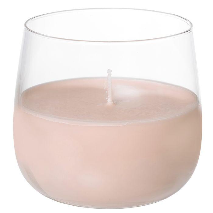 Lysestage, Duni, Ellie, pink, glas, Ø7 cm