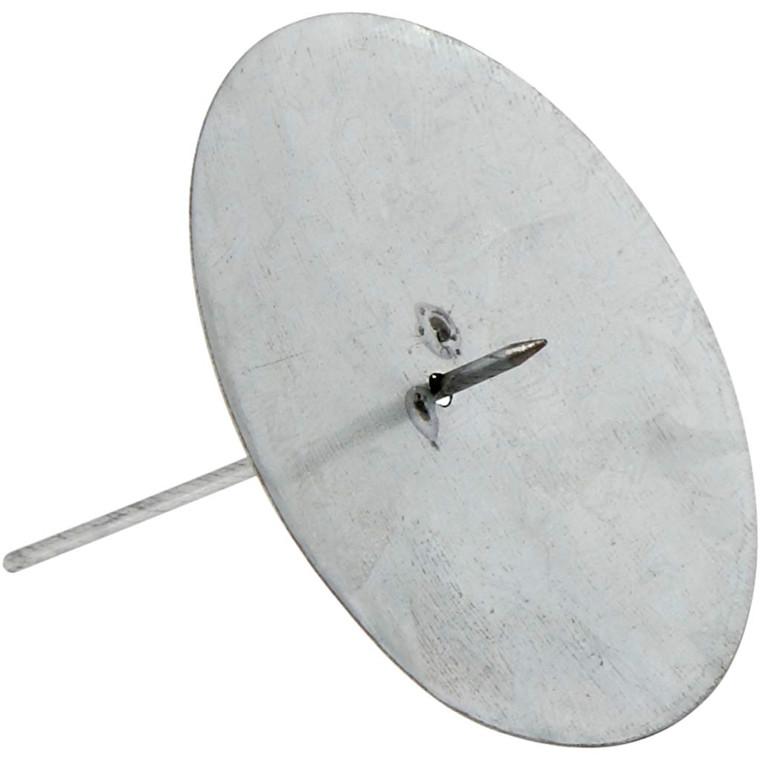 Lysholder diameter 7 cm højde 6 cm - 4 stk