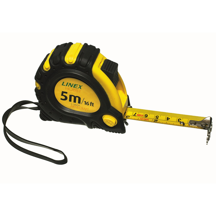 Målebånd 5 meter - Linex MT 5000