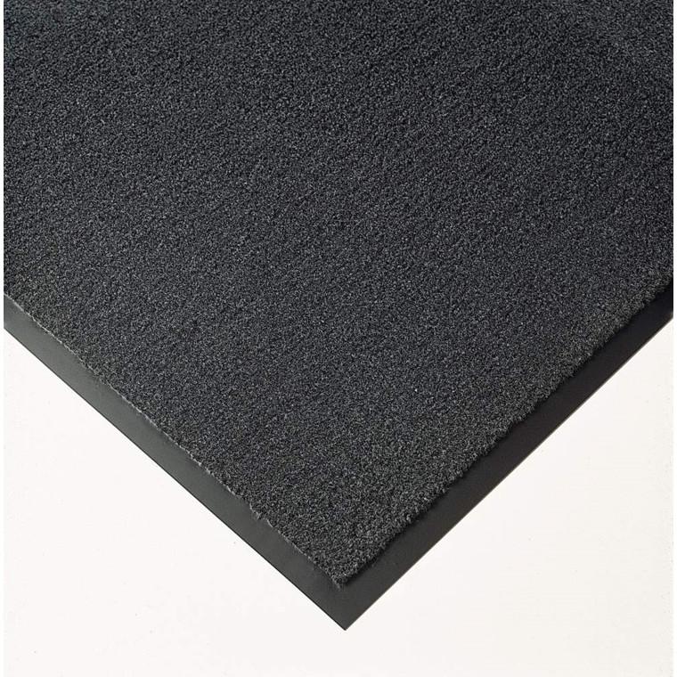 Matting Solett tørremåtte med kantliste - 90 x 150 cm grå PP/vinyl