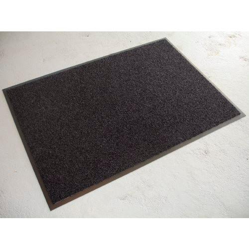 Dørmåtte sort twist 5200 | 60 x 90 cm