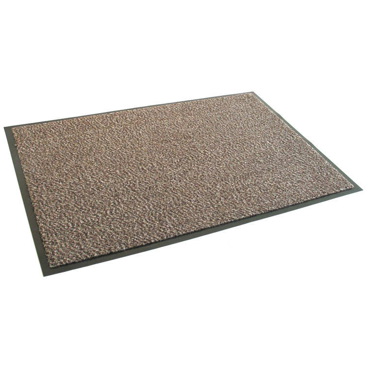 Dørmåtte Serie 1000 - Lysbrun 45 x 75 cm