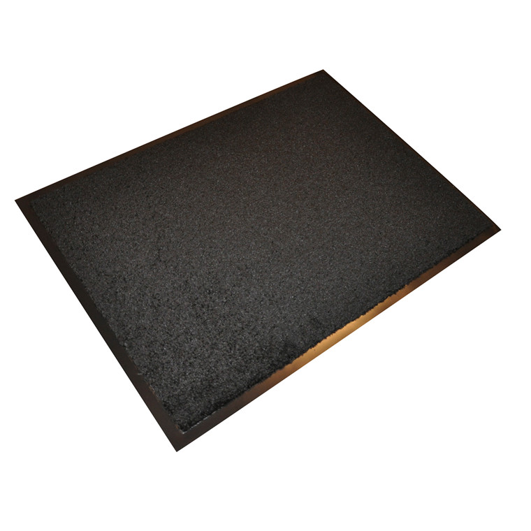 Sort Smudsmåtte 500 - 80 x 120 cm
