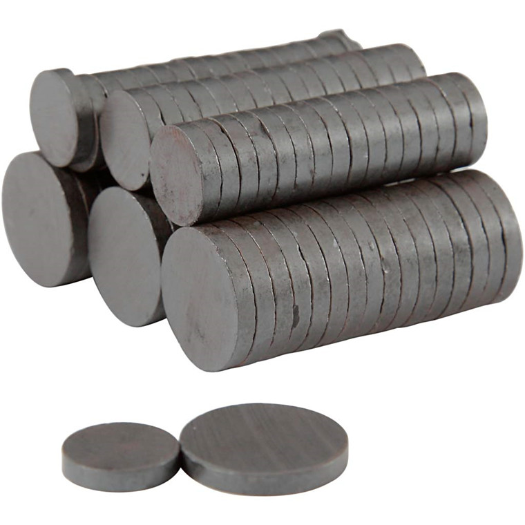 Magnet diameter 14+20 mm tykkelse 3 mm | 500 stk.
