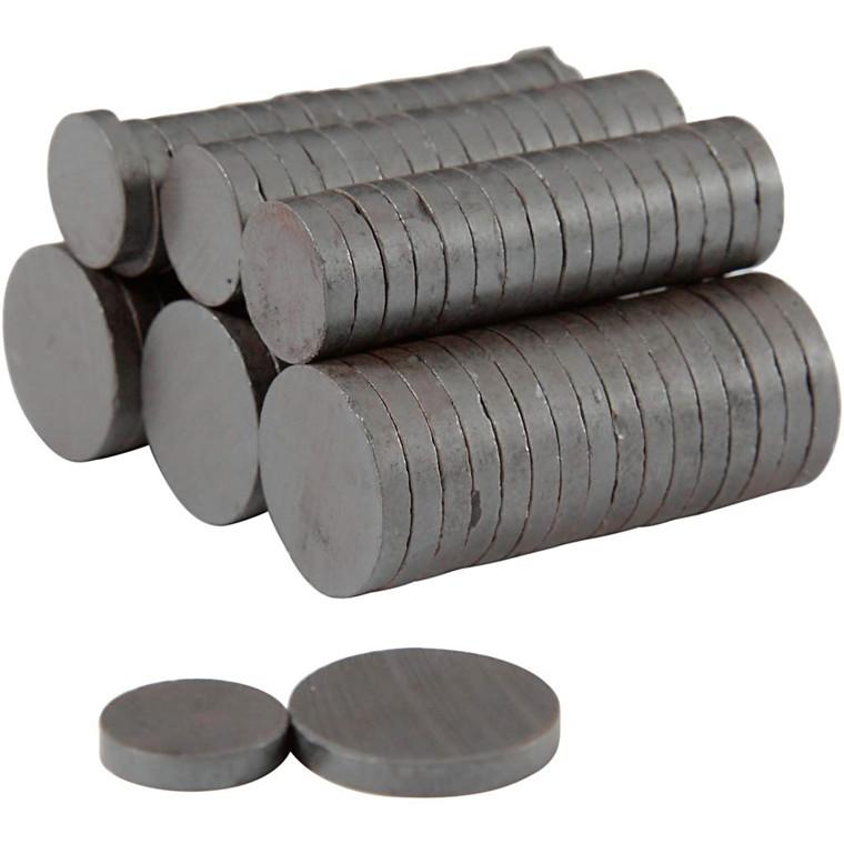 Magnet, dia. 14+20 mm, tykkelse 3 mm, 500ass.
