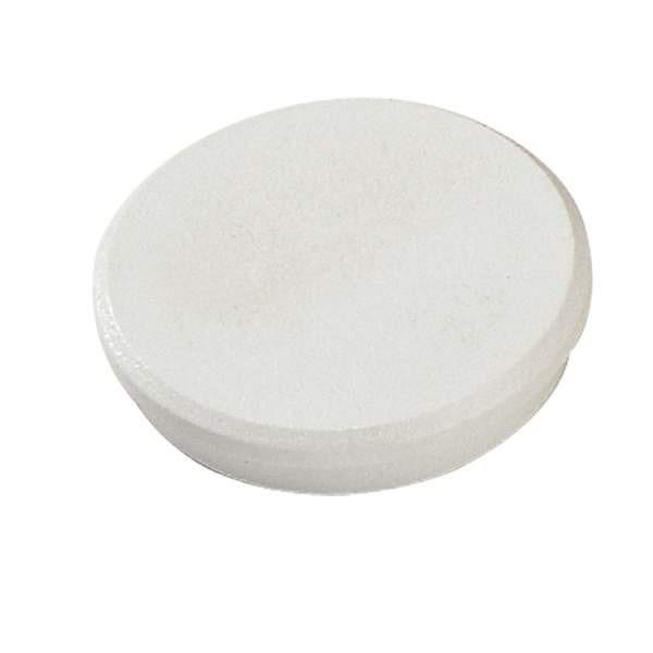 Magneter Dahle 24mm rund hvid 10stk/æsk bærekraft 0,3kg