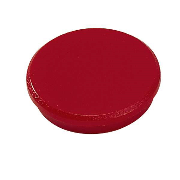 Magneter Dahle 32mm rund rød 10stk/æsk bærekraft 0,8kg