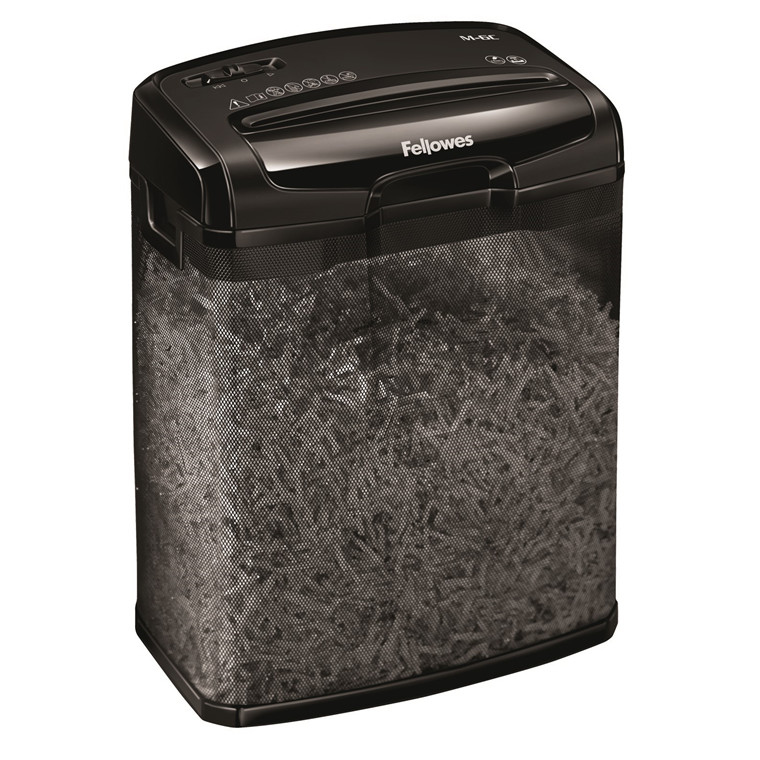 Makuleringsmaskine M-6C Fellowes 6 ark CC 4x46mm