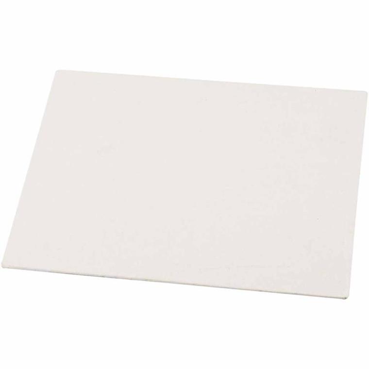 Malerplade, A5 15x21 cm, tykkelse 3 mm, 280 g, 10stk.