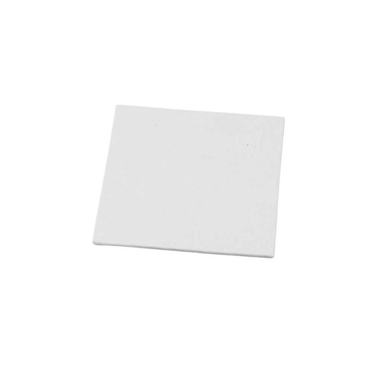 Malerplade, str. 12,4x12,4 cm, tykkelse 3 mm, 280 g, 10stk.