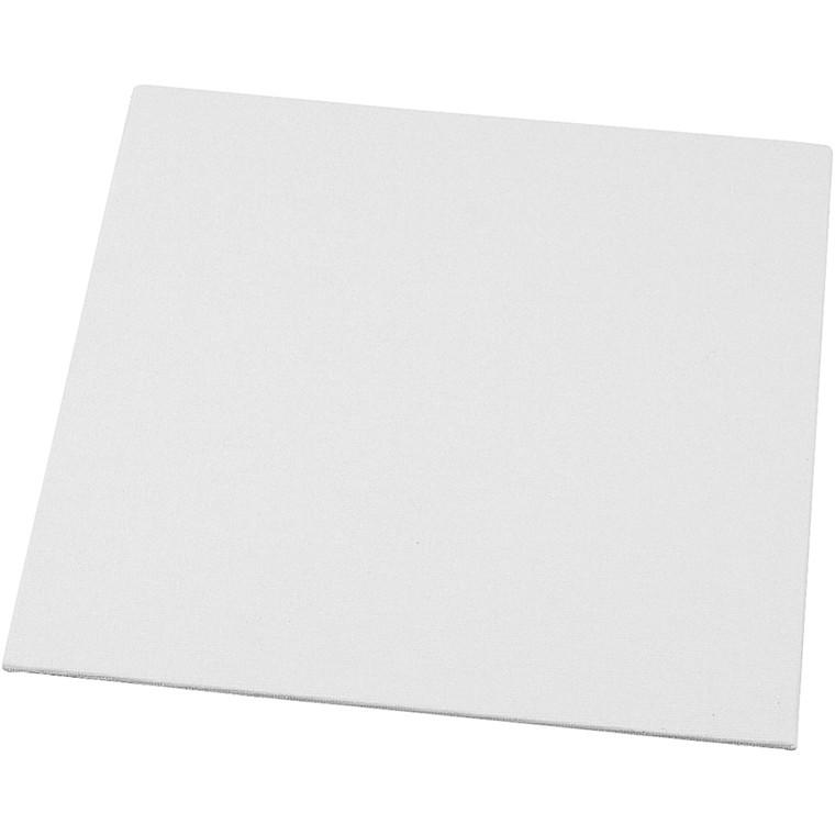 Malerplade, str. 20x20 cm, tykkelse 3 mm, 280 g, 10stk.