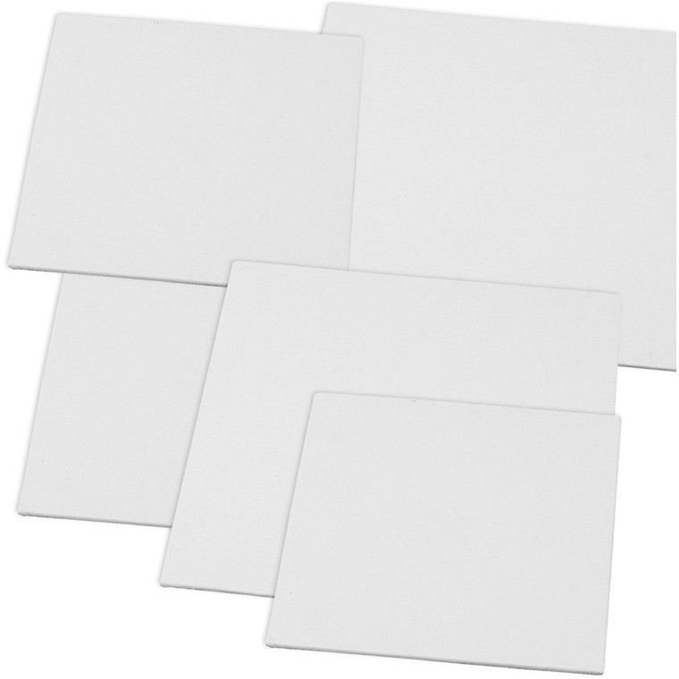 Malerplader, str. 15x15+20x20 cm, tykkelse 3 mm, 280 g, 80stk.