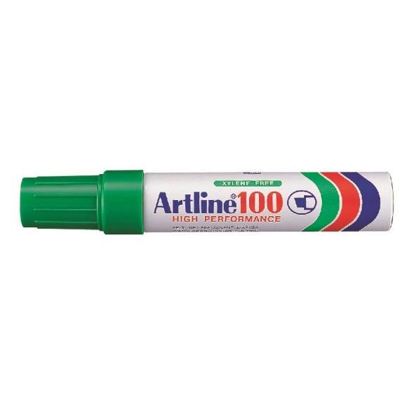 Marker Artline 100 12.0 grøn