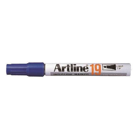 Marker Artline 19 Industri 5.0mm blå