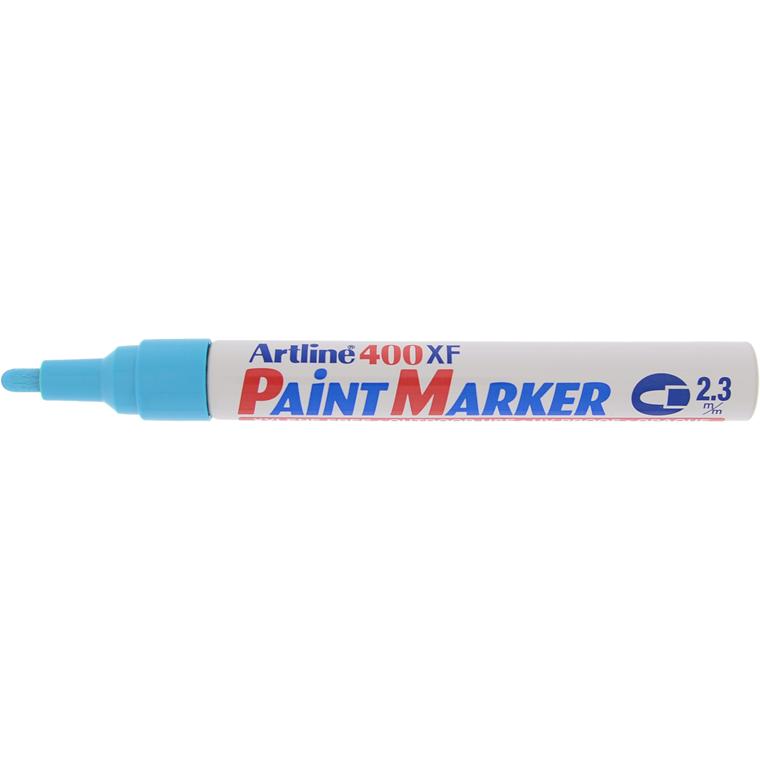 Marker Artline 400XF Paint lyseblå